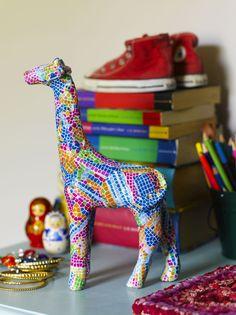 How to Decopatch a Giraffe #giraffe #decopatch #decoupage