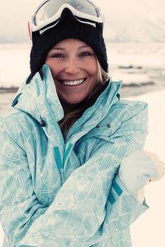 Jamie Anderson, Snowboarding 18 American Hotties Who Are Heating Up Sochi Ski Fashion, Sport Fashion, Ski Et Snowboard, Jamie Anderson, Snowboarding Style, Ski Season, Winter Love, Snow Skiing, Snow Pants