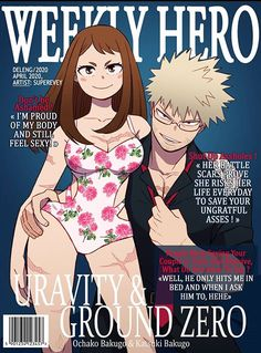 Another one for my MAG Covers collection ! And inspired by this cover ! Boku No Academia, My Hero Academia Shouto, Hero Academia Characters, Bakugou And Uraraka, Syaoran, Cute Anime Couples, Boku No Hero Academy, Anime Ships, Hero Arts
