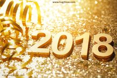 Golden Happy New Year Wallpaper Free Download 3D