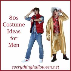 Costume Ideas for Men - Party Outfits Guys 80s Costume, 80s Party Costumes, Costume Ideas, Eighties Outfits, 80s Party Outfits, Dress Outfits, 80s Theme Outfit, 80s Fashion Men, 40th