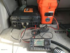 This weekend is the CQ WPX contest, a great opportunity to try out the + PackTenna portable station. I like to throw the radio, battery case and antenna in the back of the SUV. Then drive… Diy Electronics, Electronics Projects, Pelican Case, Ham Radio Antenna, Go Kit, Survival Skills, Technology, Spy, Opportunity