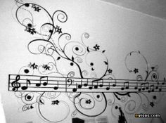 Would love to do that on a wall where you play the piano