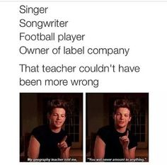 Couldnt have been more wrong! #masterofallwisdom