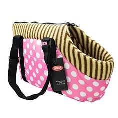 BETOP HOUSE Dog Cat Pet Travel Carrier Tote Bag Purse 177X98X78 Pink -- Click image for more details.