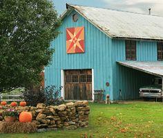 Miami county Ohio quilt barn