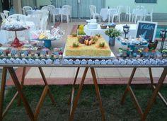 Mesa festa simples @decoracaofestasafetivas
