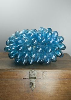 Handmade glass lamp from recycled glass  Www.danmasboutique.com