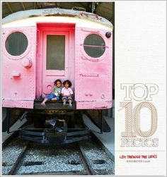 Top10 photobook made with Shutterfly template - Great way to capture the favorite moments of the year!