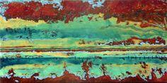 Aafke Buitelaar - Landschap  50 x 100