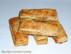 Škvarkovo - orechové tyčinky