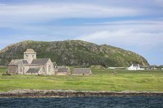 The secluded Iona Abbey in Scotland.