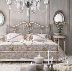 6 Impressionantes camas de ferro de luxo