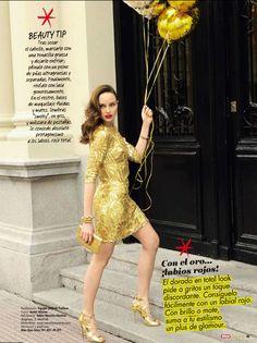 Visto en Hola! Fashion http://www.bdba.com/ficha--VESTIDOS_FIESTA-13SS014-GOLD.php?id=10311=c