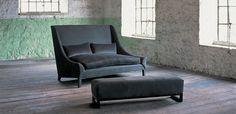 Modern elegance settee