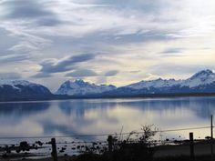 Puerto Natales vista do canal Señoret - Viagem com Sabor