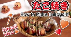 Takoyaki is a popular Japanese dumpling made of batter, diced octopus, tenkasu (tempura scraps), beni shoga (red pickled ginger), and aonegi...