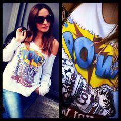 #EnjoyTshirt #Felpe #POW #COKE #popart #new www.enjoytshirt.com