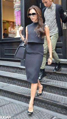 Mode Outfits, Fashion Outfits, Womens Fashion, Skirt Outfits, Victoria Beckham Shop, Work Fashion, Fashion Looks, Looks Kate Middleton, Victoria Fashion