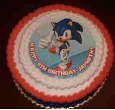 Image Result For Sonic The Hedgehog Cake Template Hedgehog Birthday Sonic Birthday Parties Sonic Party