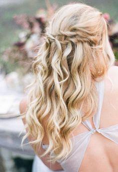 Wedding hairstyle idea; Featured Photographer: Jennifer Kulakowski