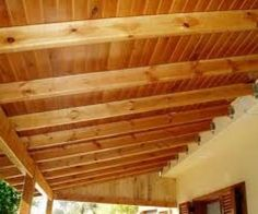 casas economicas There are plenty of stuff that may eventually complete your garden, similar to House Without Walls, Timber Roof, Sloped Garden, Antique Lighting, Pergola Designs, Small Patio, Wall Spaces, Ceiling Design, Outdoor Projects