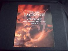 "Music Memorabilia, ""Michael Jackson"" History Book 1, Color Promotional Biography"