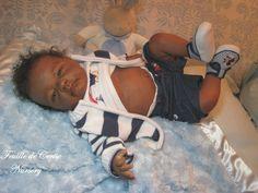 Marcus - bébé reborn noir