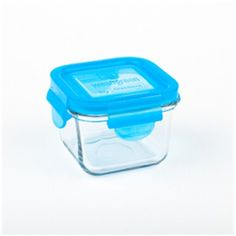This is the perfect snack size tempered glass food container! Whether it be a granola & yogurt combo, cheerios or even a baby food puree it is the perfect size for every snacker in the house! Baby Puree Recipes, Baby Food Recipes, Cubes, School Must Haves, Yogurt And Granola, Pot Rack, Food Storage Containers, Blueberry, Snacks