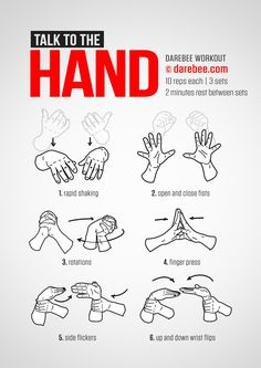 Hand Workout Fitness Workouts, Yoga Fitness, At Home Workouts, Fitness Tips, Health Fitness, Health Diet, Enjoy Fitness, Fitness Quotes, Mental Health