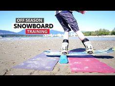Off Season Snowboard Training - Gear & Tricks - YouTube