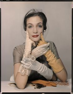 Hands: Photo by Erwin Blumenfeld for Vogue Magazine, 1950