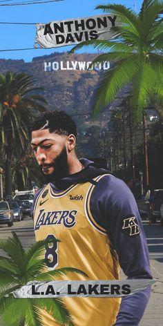 Basketball Iphone Wallpaper, Lakers Wallpaper, King Lebron, Lebron James, Basketball Leagues, Basketball Players, Kentucky Athletics, Nba Pictures, Anthony Davis