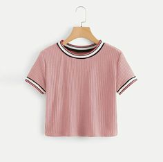 Pretty Outfits, Cool Outfits, Casual Outfits, Girls Summer Outfits, Teen Fashion Outfits, Cute Crop Tops, Crop Top Outfits, Teenager Outfits, Pull