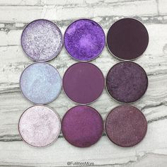 Makeup Geek purple eyeshadows | Futilities and More