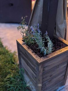 Learn how we built four easy DIY flower boxes to go around our gazebo posts to help weigh the gazebo down. Get the DIY Planter Box Plans! Planter Box Plans, Diy Planter Box, Diy Planters, Diy Flower Boxes, Diy Flowers, Cedar Tongue And Groove, Outdoor Living Patios, Landscape Fabric, Buy Wood