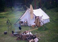 A Cowboy Camp