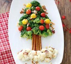 Гарнир из брокколи  и цветной капусты