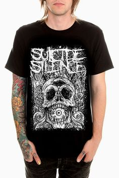 Official Suicide Silence Viking T-Shirt Music Rock Band Group Deathcore