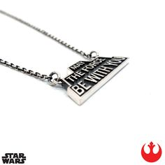 The Kessel Runway Han Cholo x Star Wars NOW AVAILABLE - MTFBWY sterling silver necklace