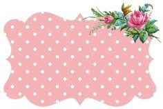 ♥Freebie Image: Vintage Flower Frames + a Winner! ♥ | Free Pretty Things For You