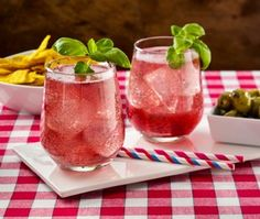 This Blueberry Basil Lemonade Spritzer recipe will help create sweet moments.