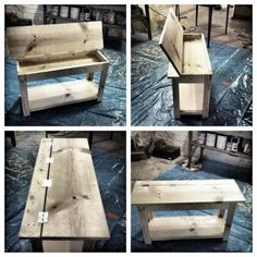 Flip Top Piano Bench | Do It Yourself Home Projects from Ana White