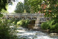 Bridge over Shaw's Creek, Alton Mill, Ontario Bridges, Roads, Ontario, Wedding Stuff, Wedding Decorations, Places To Visit, Sidewalk, Canada, Spaces