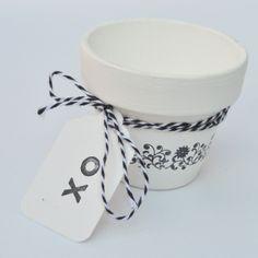 Make a Cute Terracotta Pot Hostess Gift