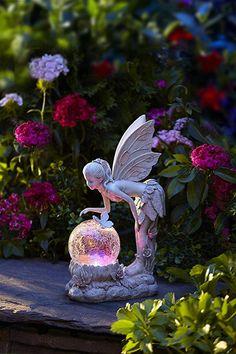 Picking the Perfect Outdoor Patio Decoration – Outdoor Patio Decor Fairy Statues, Fairy Figurines, Small Garden Statues, Garden Whimsy, Garden Art, Garden Pond, Elfen Fantasy, Patio Decorating Ideas On A Budget, Garden Angels