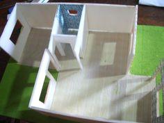 corte, quarto, banheiro e sala tv