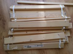 DIY Coffee Table from Malm bed slats - IKEA Hackers