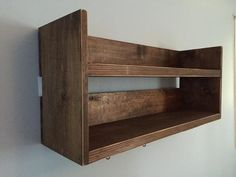 Your place to buy and sell all things handmade Diy Wood Shelves, Bar Shelves, Reclaimed Wood Shelves, Rustic Shelves, Rustic Walls, Kitchen Shelves, Storage Shelves, Kitchen Storage, Shelf