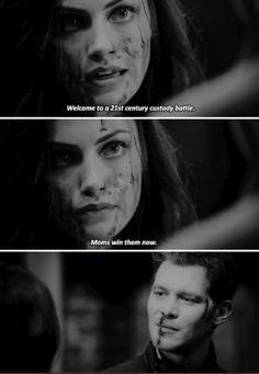"#TheOriginals 3x02 ""You Hung the Moon"" - Hayley and Klaus"